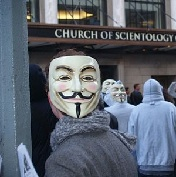 Condamnation anonymous, scientologie