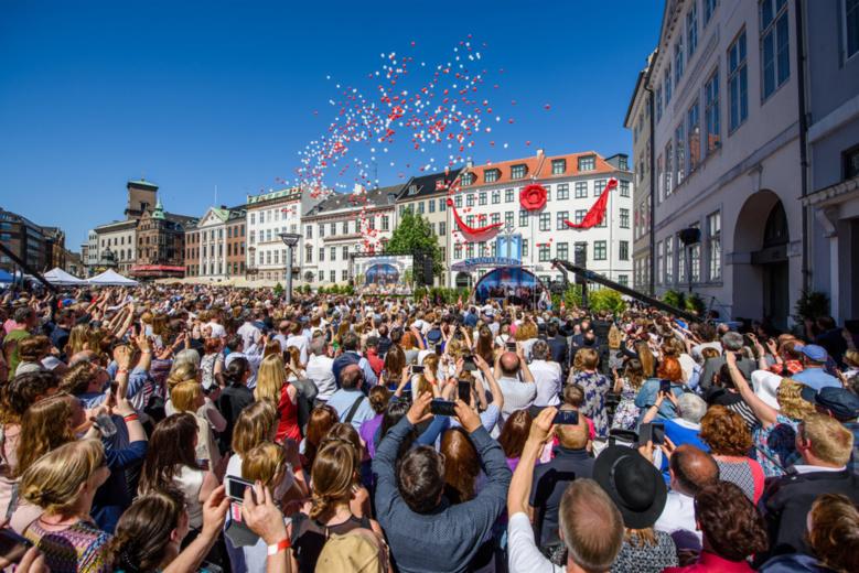 Inauguration de la Nouvelle Eglise idéale de Scientologie de Copenhague