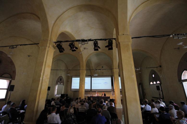 Séance à l'Acdémie Européenne des Religions 2017