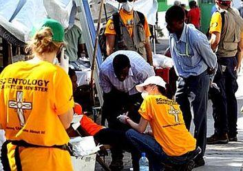 Ministres bénévoles de l'Eglise de Scientologie à Haïti