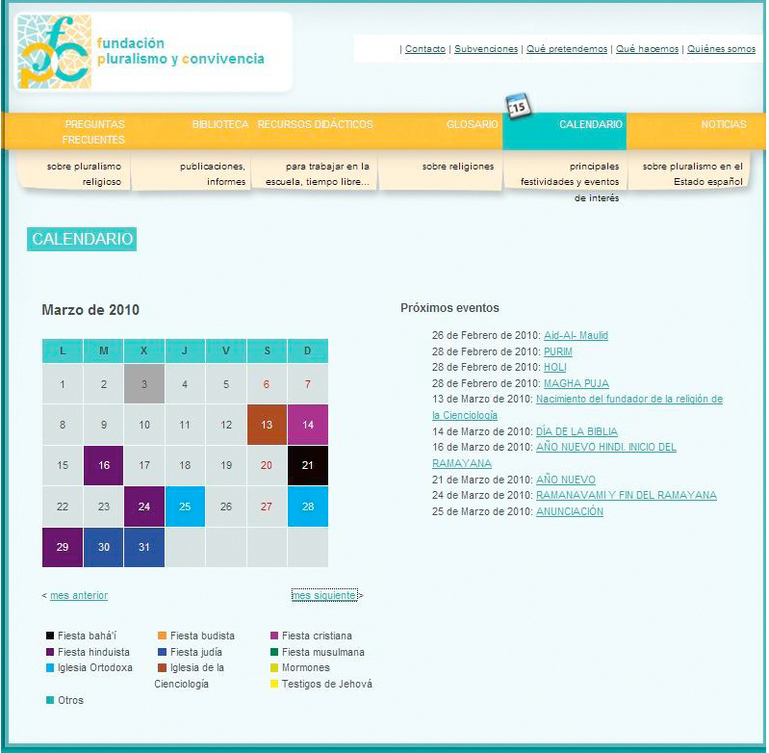 L'Espagne inclut la naissance de Ron Hubbard dans un calendrier religieux.