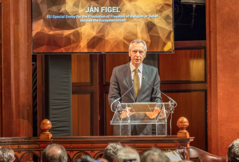 Jan Figel at the Faith and Freedom Summit