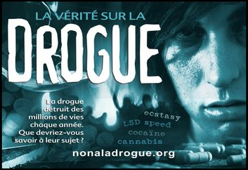 La Scientologie et la campagne de prévention sur les dangers des drogues en France