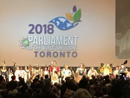 Au Parlement des Religions du Monde