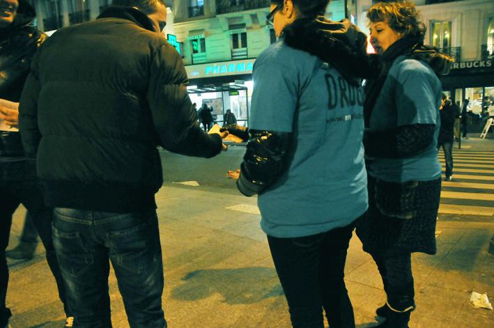 Prévention sur les dangers des drogues dans le 17ème arrondissement de Paris