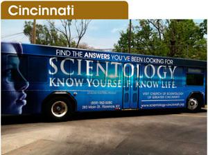 Cincinnati et sa nouvelle Eglise de Scientologie
