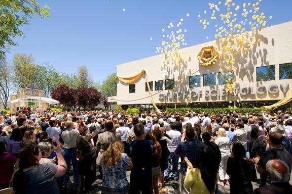 Ouverture de la nouvelle Eglise de scientologie de Stevens Creek