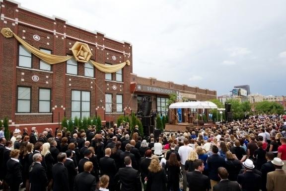 Ouverture de l'Eglise de Scientologie de Denver