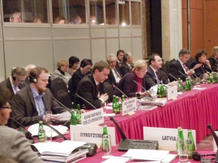 Intervention devant l'OSCE au nom du Bureau Européen des Droits de l'Homme de l'Eglise de Scientologie