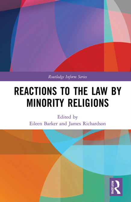 Livre : Reactions to the Law by Minority Religions