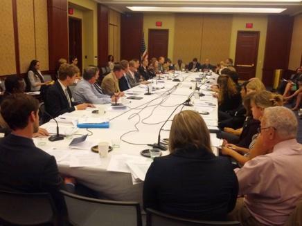 Table Ronde sur la liberté religieuse à l'international - Sept 2013 - US Capitol