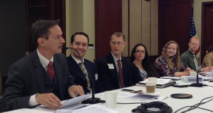 Table Ronde sur la liberté religieuse à l'international - Sept 2013 - US Capitol - Eric Roux