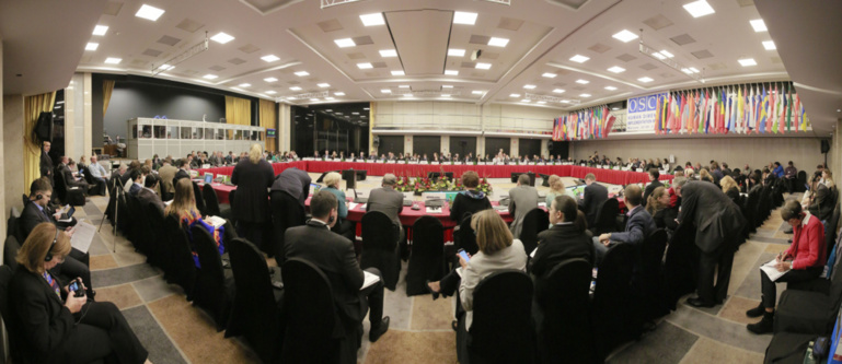 Intervention à l'OSCE