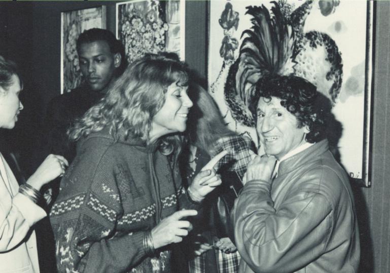 Archives : Mouloudji à l'Eglise de Scientologie Celebrity Centre