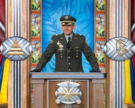 Lieutenant Colonel Carlos Pena