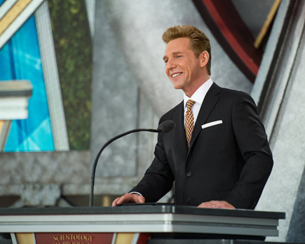 David Miscavige, leader ecclesiastique de la religion scientologue
