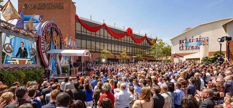L'Eglise de Scientologie inaugure ses nouveaux studios de télévision, et plus encore...