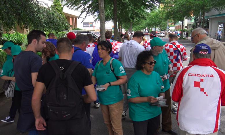 Non à la Drogue, Oui à la Vie, à l'Euro 2016