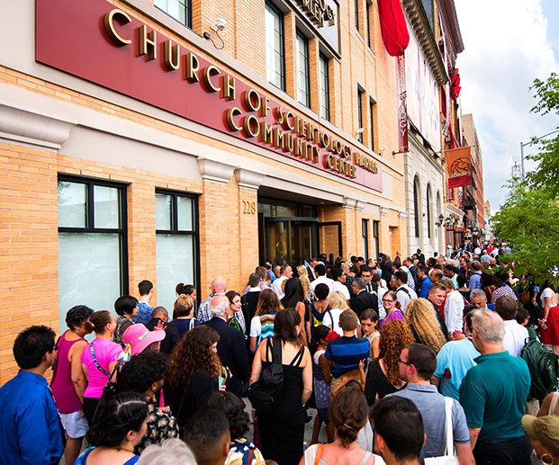 Inauguration de l'Eglise de Scientologie de Harlem