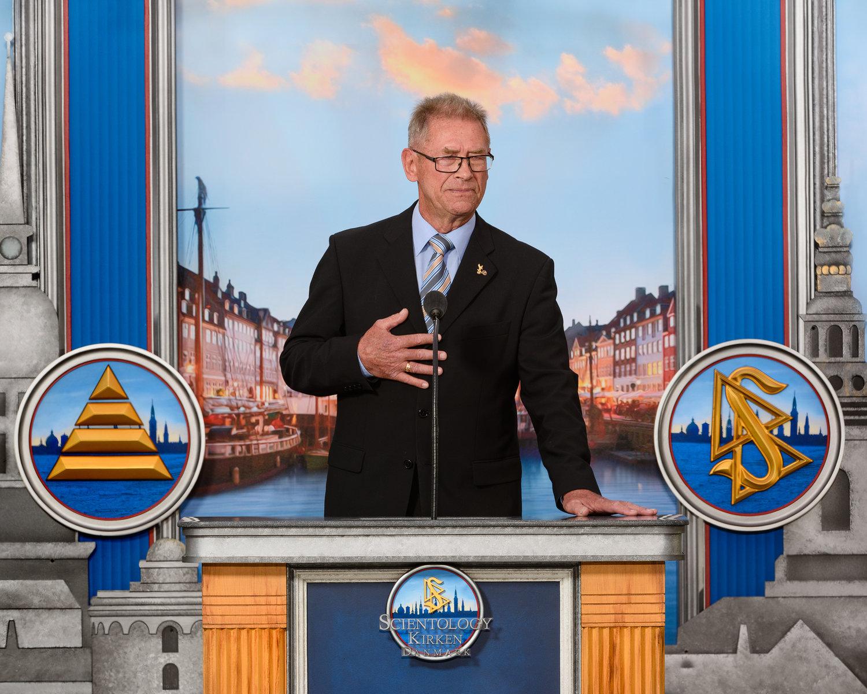le Surintendant en chef de la Police danoise (Ret.) M. Thøger Berg Nielsen