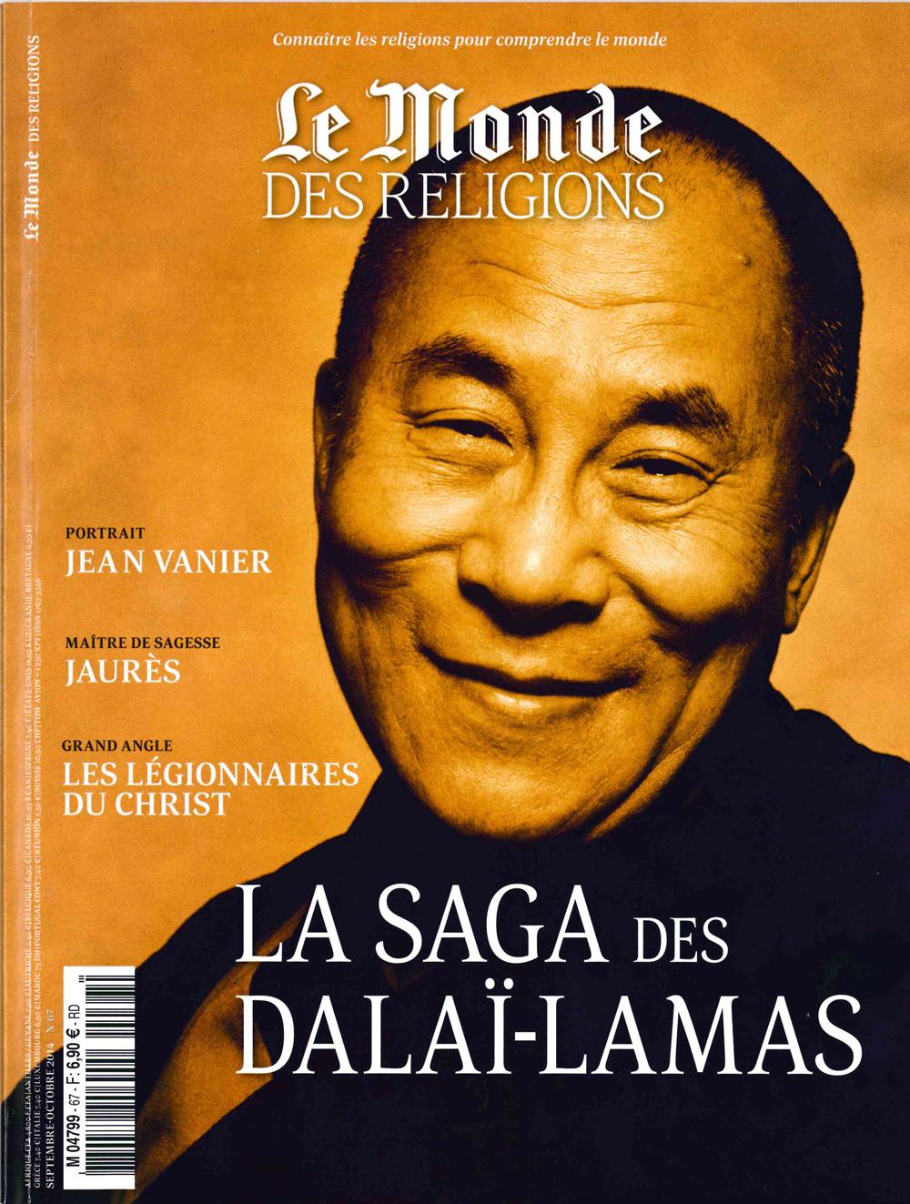 Article dans le Monde des religions