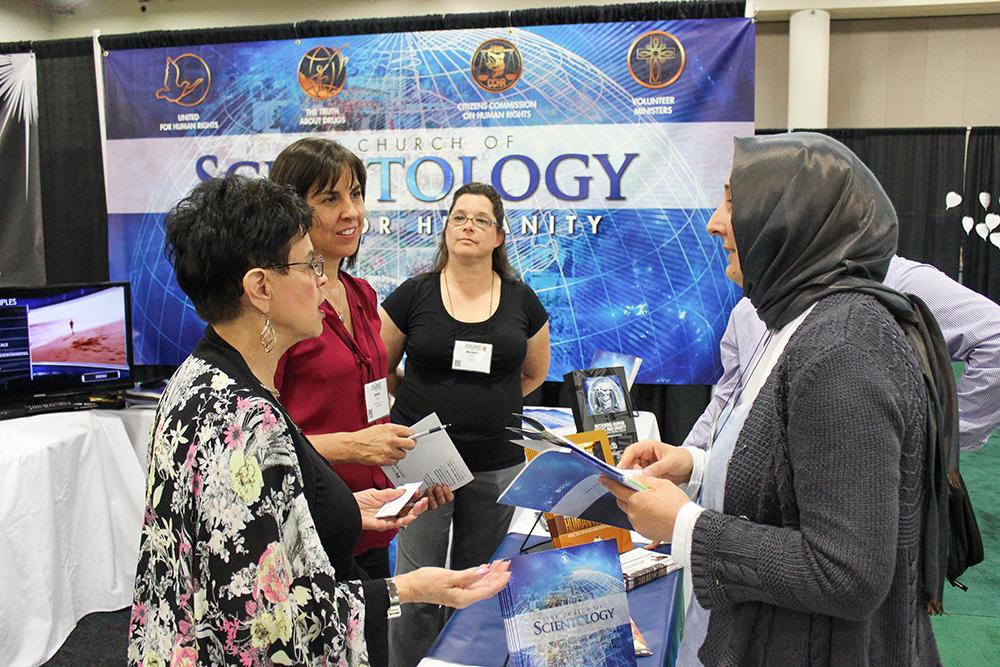 L'Eglise de Scientologie au Parlement des Religions du Monde