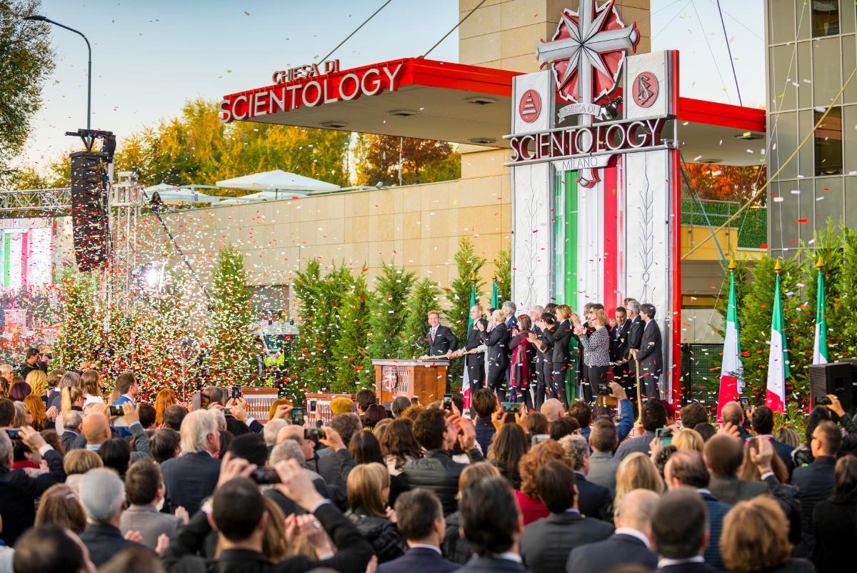 Italie : la plus grande Eglise Idéale de Scientologie au monde inaugurée à Milan
